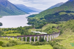 Hogwarts Express, Glenfinnan Viadukt