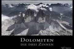 Südtirol Dolomiten die drei Zinnen