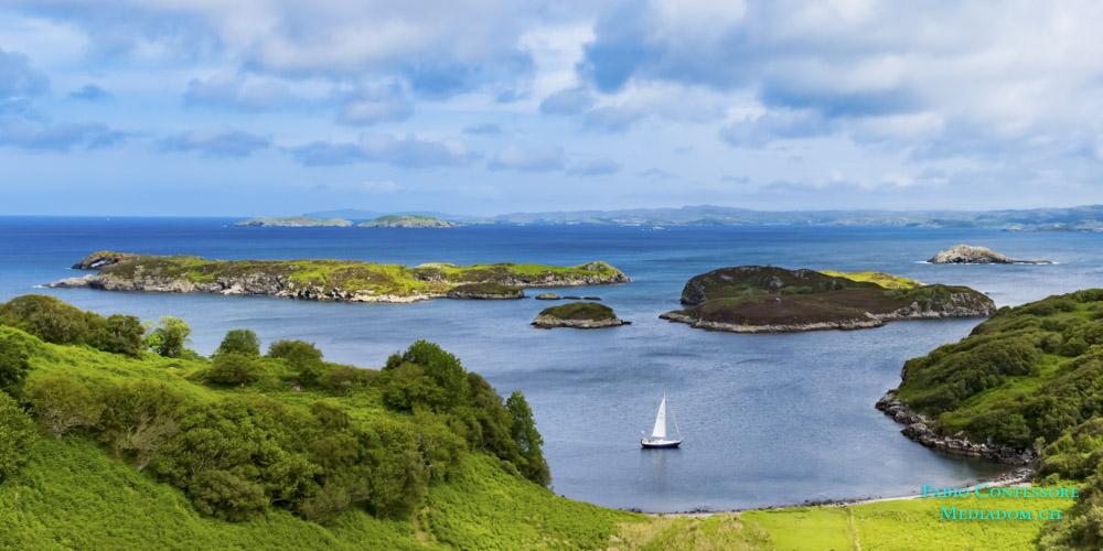 Schottland – Drumbeg Viewpoit