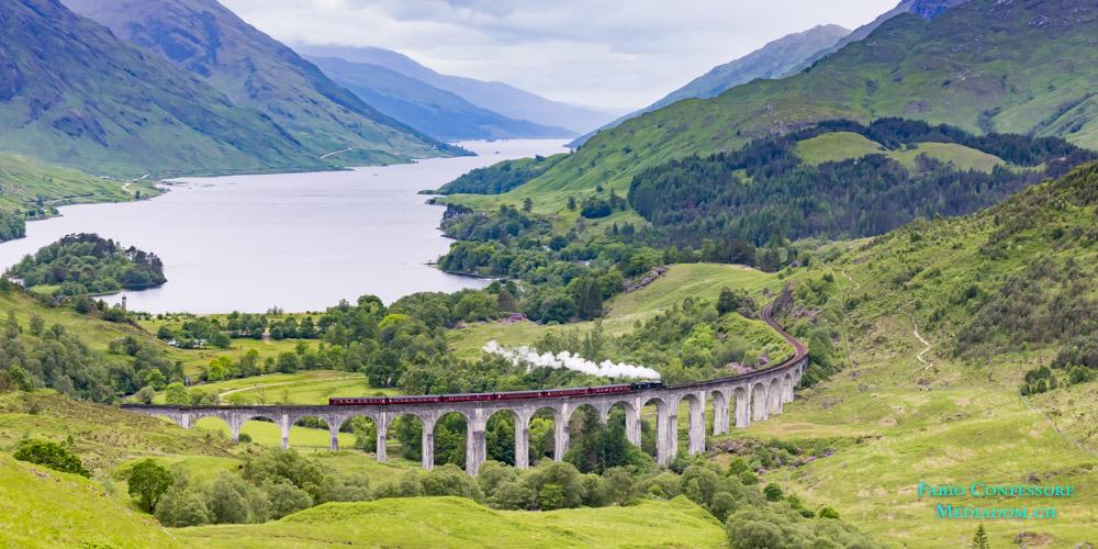 Schottland – Glenfinnan-Viadukt